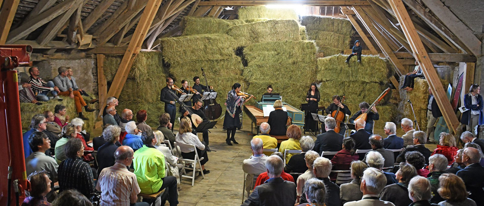Ensemble MUSICA FIORITA 2019 auf dem Hofgut Mapprach