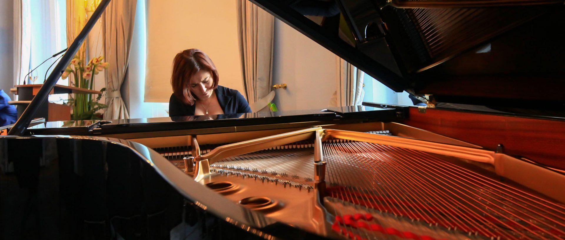 Die ukrainische Pianistin Marija Kim